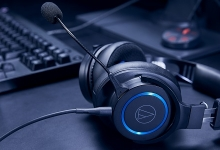 AUDIO-TECHNICA ATH-G1 WIRED AND WIRELESS GAMING HEADPHONES