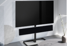 Bang & Olufsen Beosound Stage, Stand Bundle with LG OLED TV