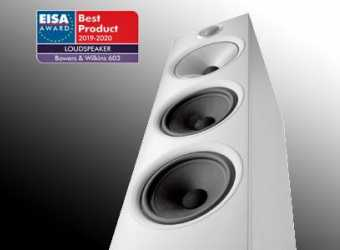 BOWERS & WILKINS 603 AWARDED LOUDSPEAKER OF THE YEAR