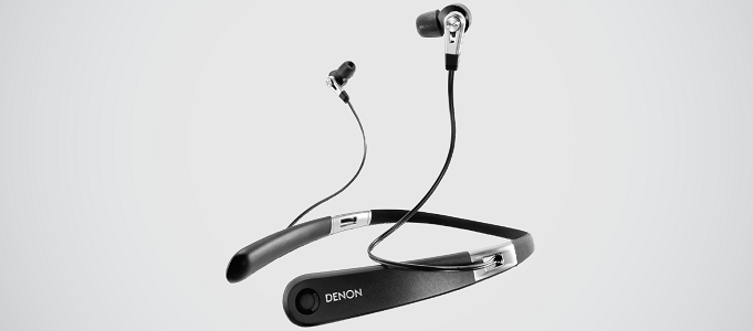 DENON AH-C820W BLUETOOTH NECKBAND EARPHONES ANNOUNCED