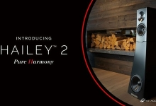 YG ACOUSTICS REVEAL HAILEY 2 - NEXT GEN COMPACT FLAGSHIP LOUDSPEAKER