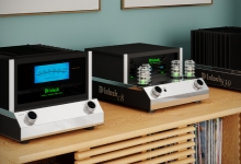 New McIntosh Open Chassis Valve Pre and Solid-State Power Amps