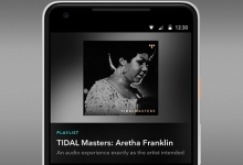TIDAL MASTERS ON MOBILE