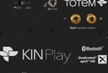 TOTEM ACOUSTICS KIN PLAY GOES ACTIVE AND WIRELESS