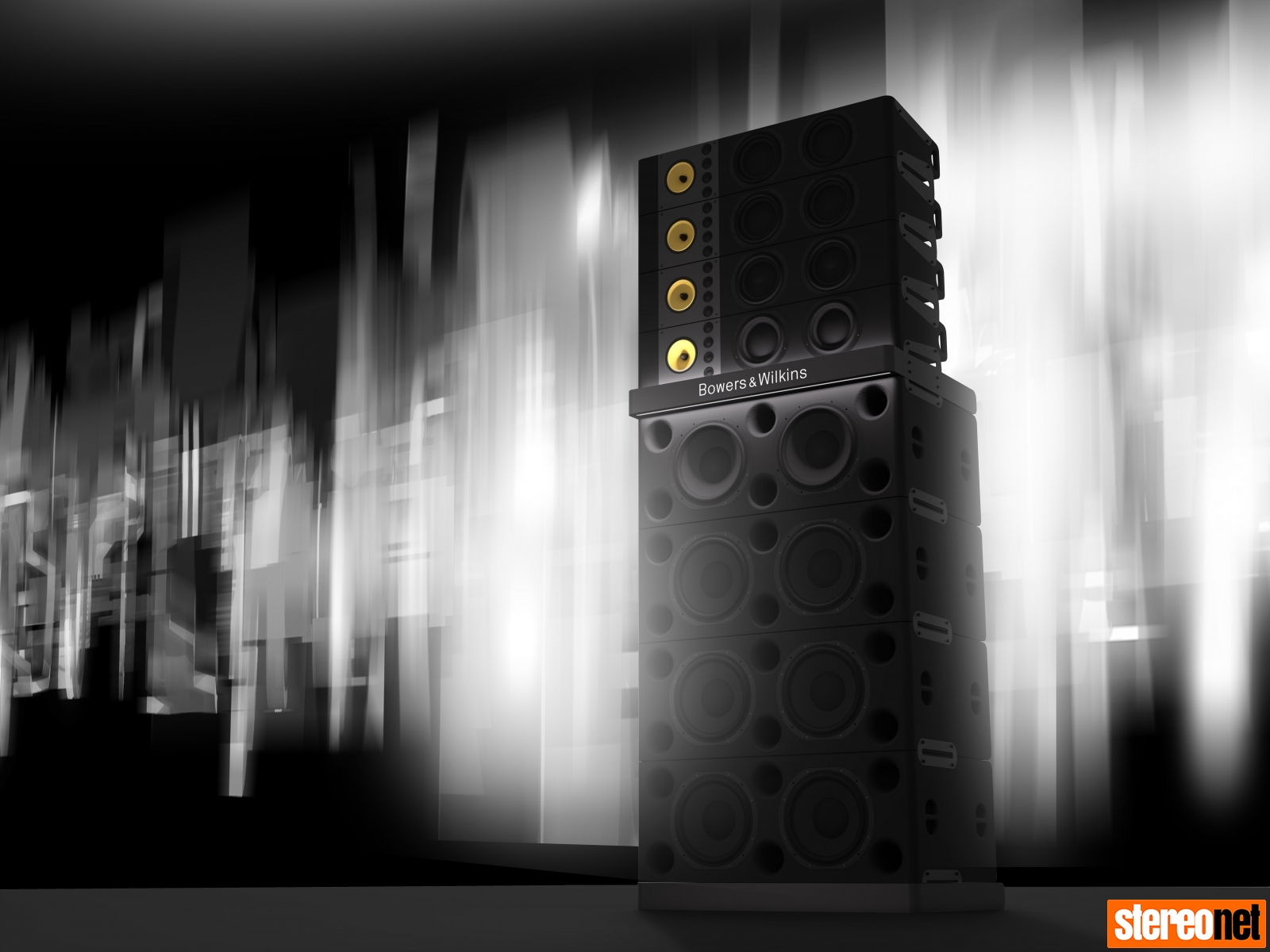 Bowers and Wilkins Sound System ultimate PA