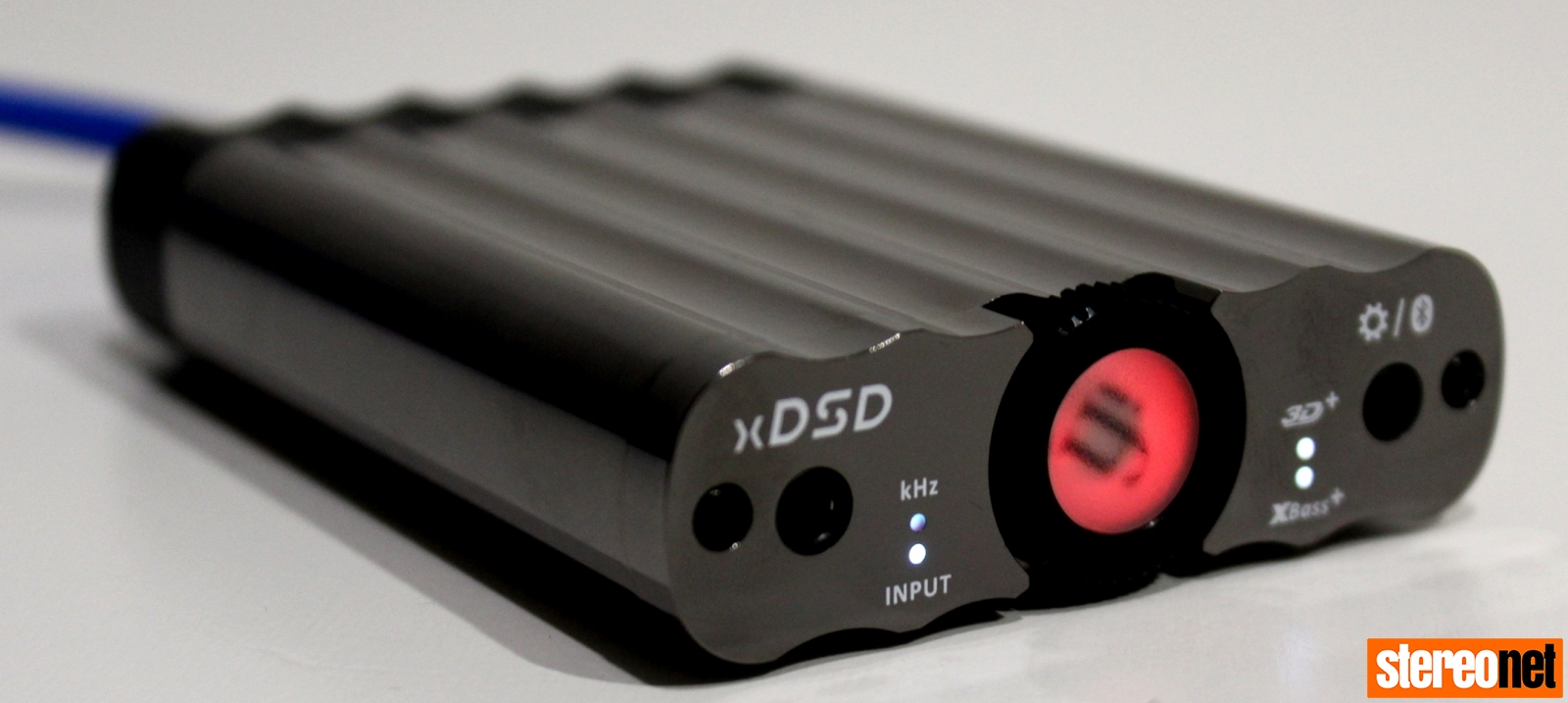 iFi xDSD red dial