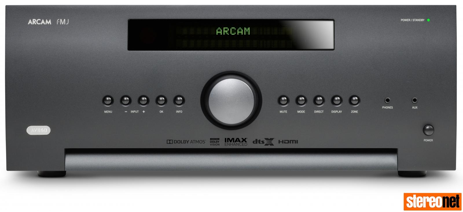 Arcam AV860 IMAX Enhanced