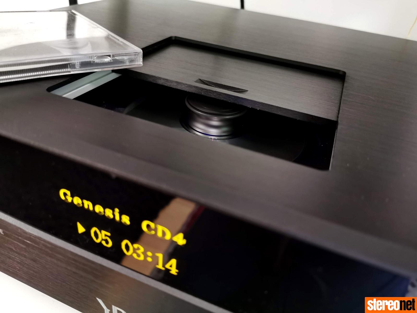 YBA Genesis CD4 CD Player Review