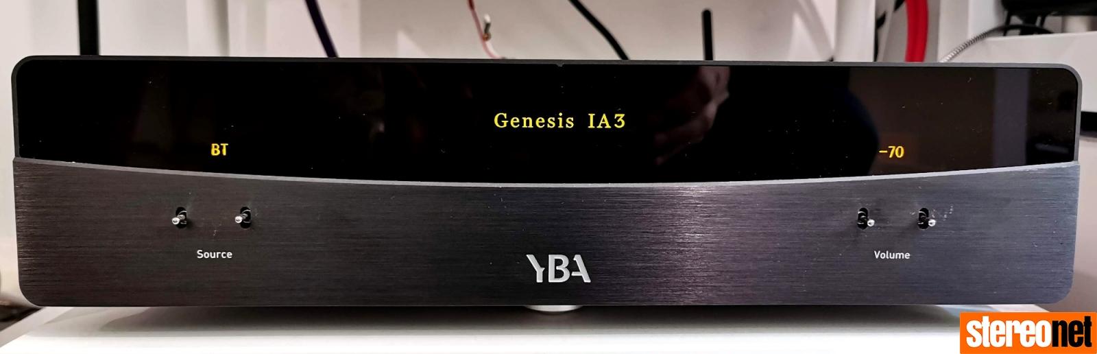 YBA Genesis IA3 Integrated Review