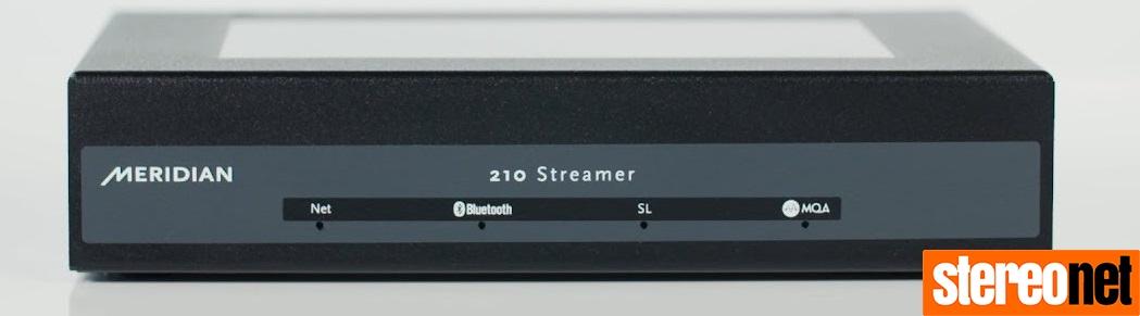Meridian 210 Streamer