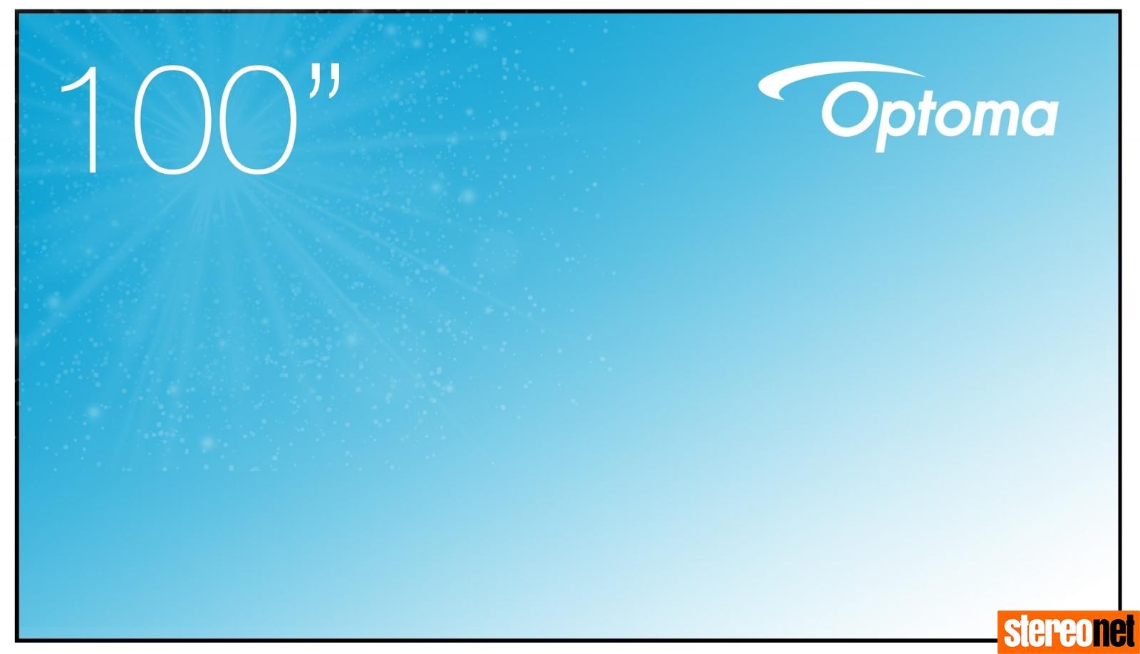 Optoma ALR101 Screen
