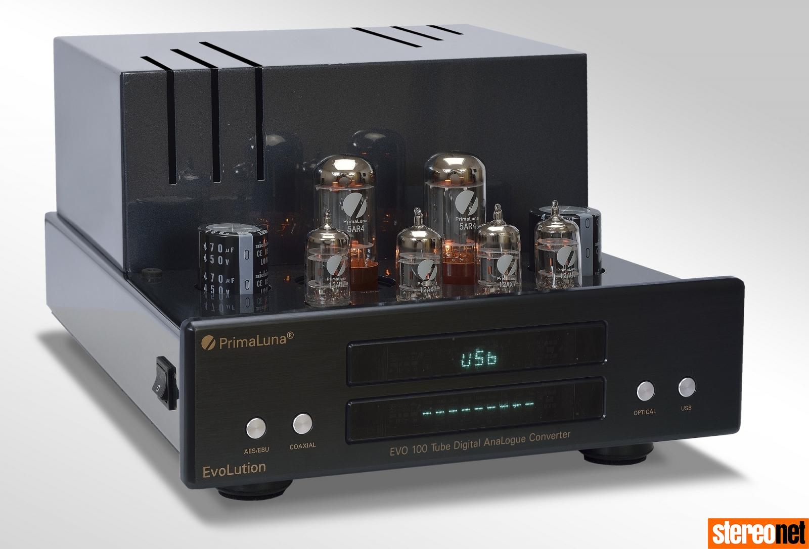 PrimaLuna Evolution Tube Amps