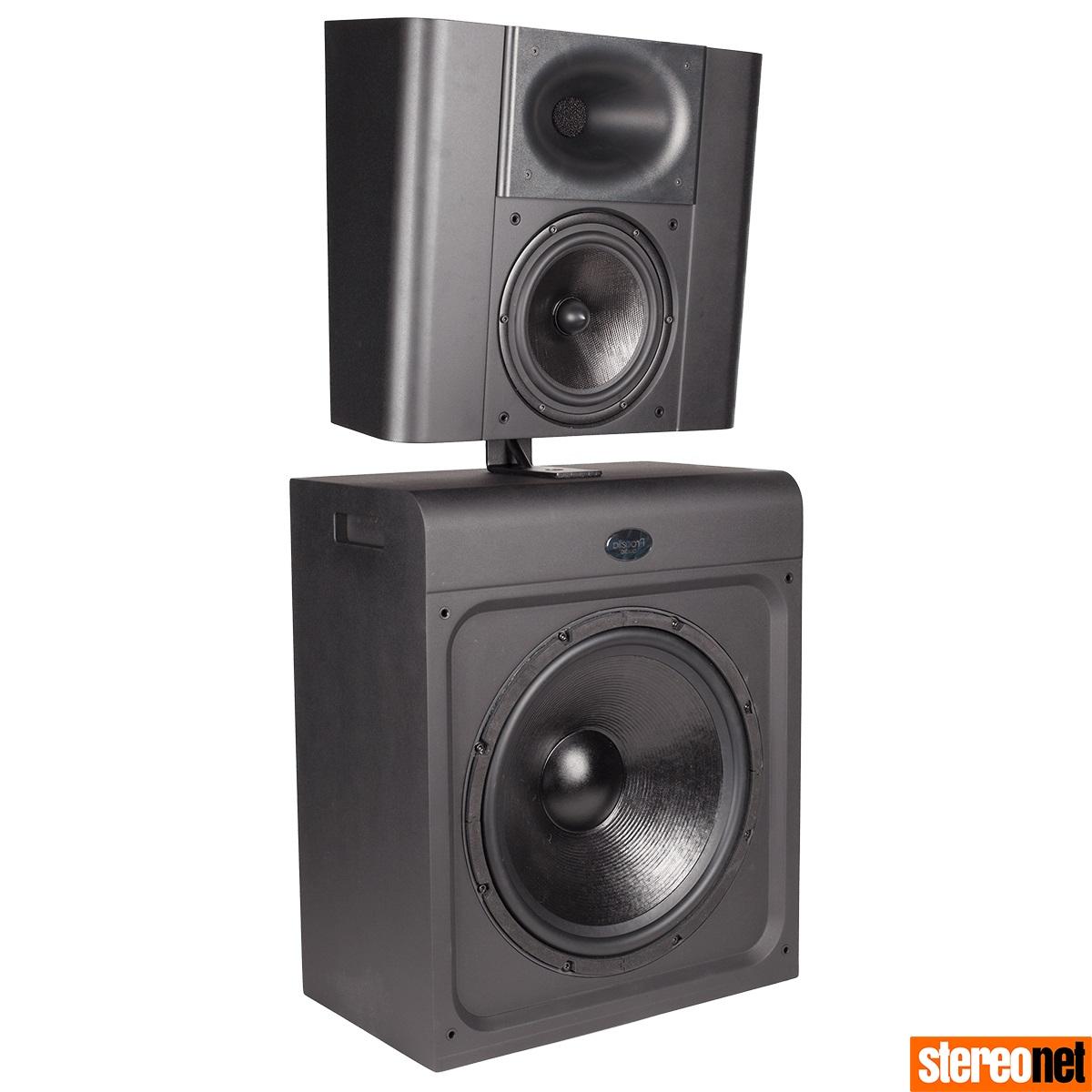 Procell P815 fullrange home cinema speaker - ISE 2020