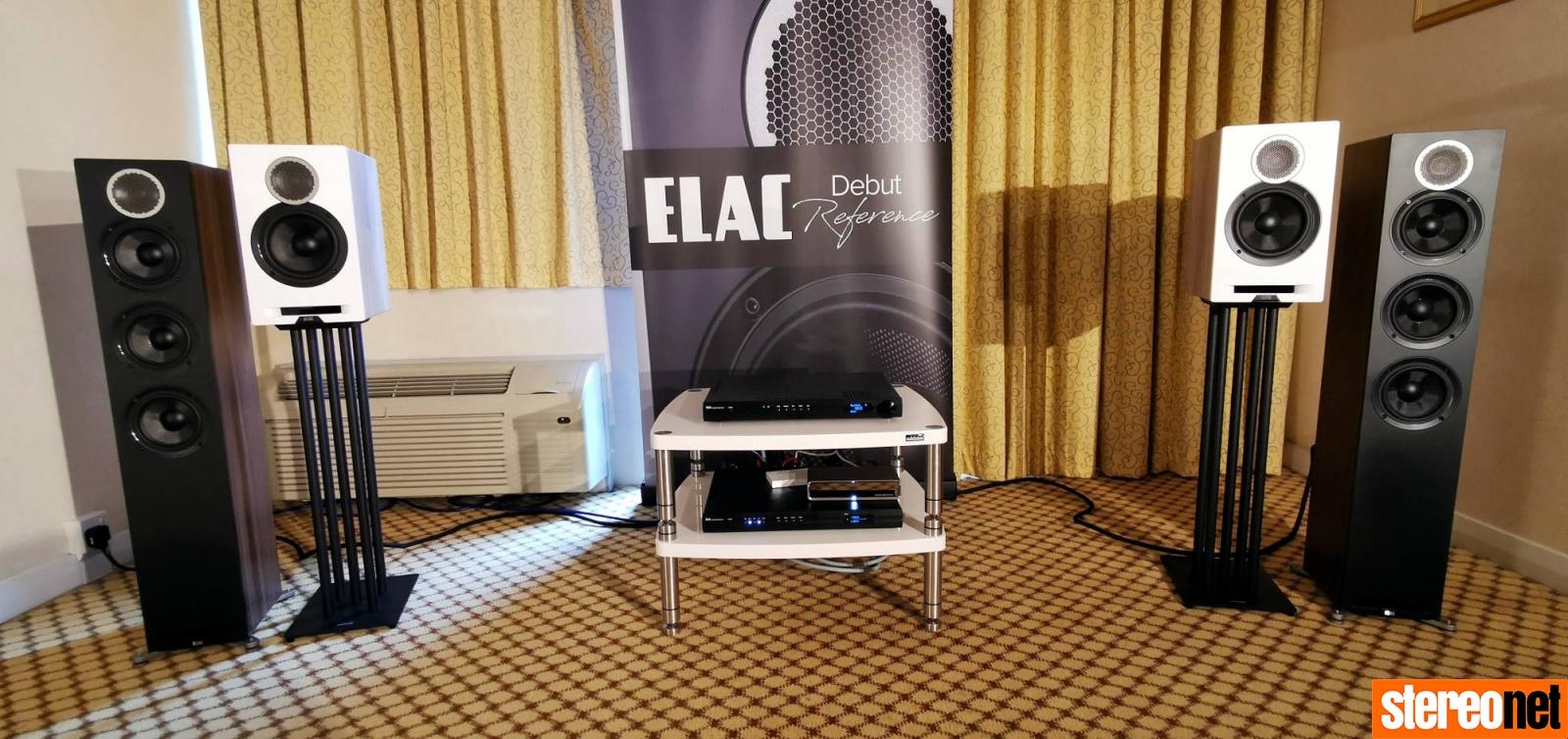 Elac Bristol hifi show 2020 report