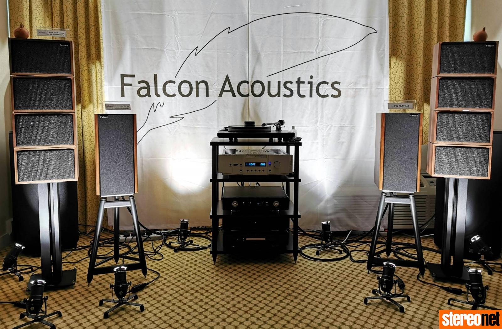Falcon Acoustics Bristol hifi show 2020 report