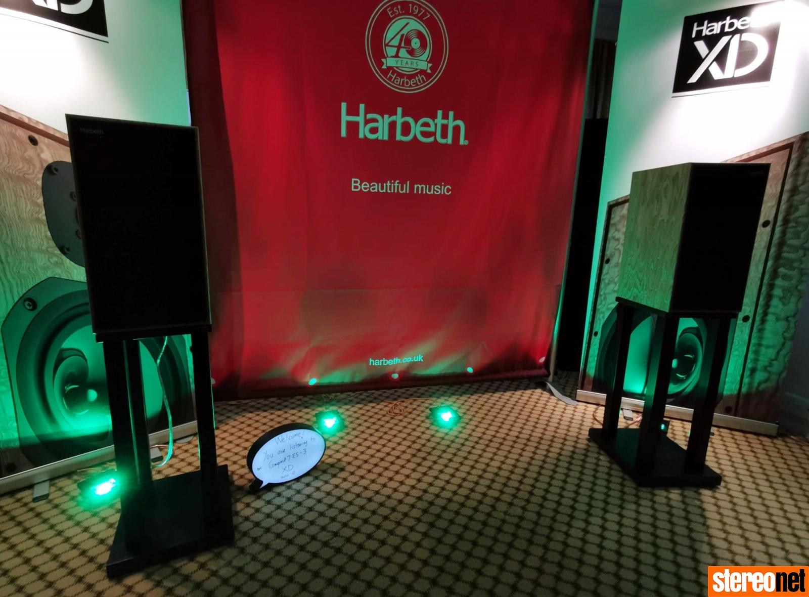 Harbeth XD Bristol hifi show 2020 report