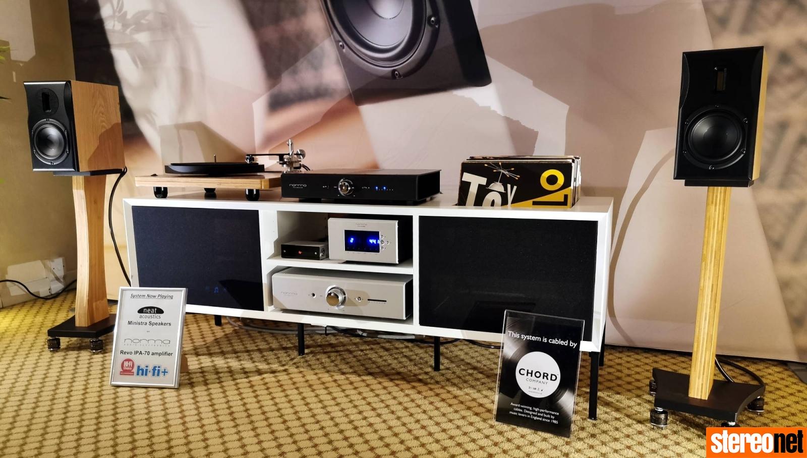 Neat Acoustics Bristol hifi show 2020 report