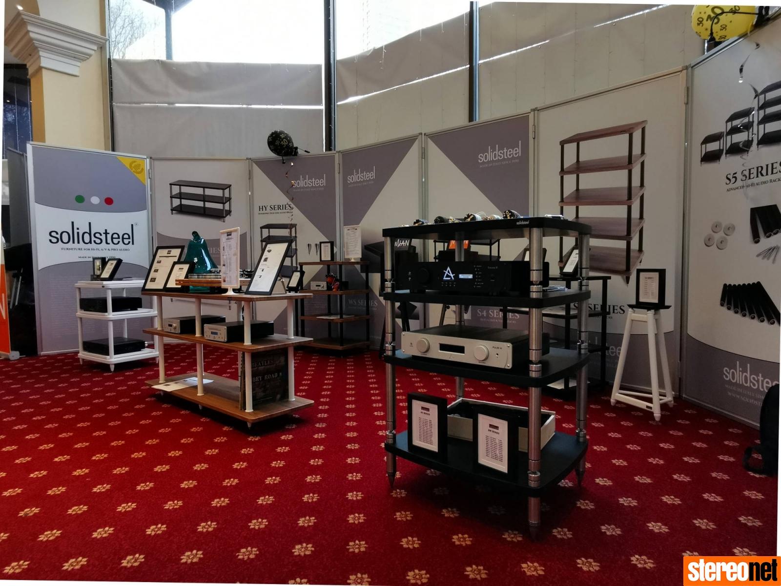 SolidSteel Bristol HiFi Show 2020 report