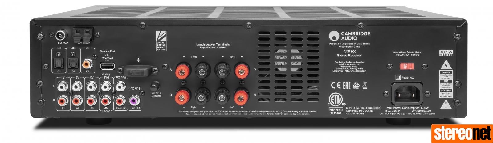 Cambridge Audio AXR100D