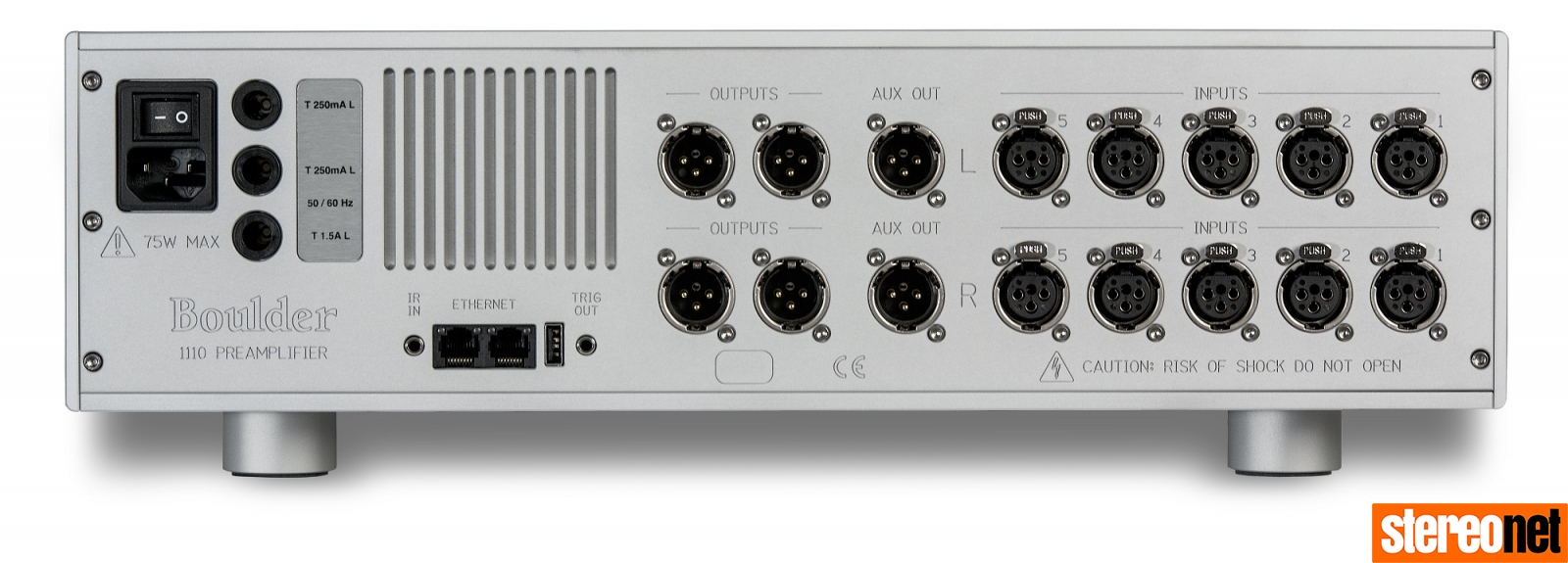 Boulder 1110/1160 Pre/Power Amplifer Review