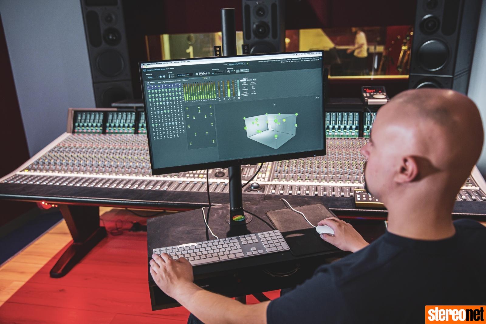 Dean Street Studios PMC Dolby Atmos Music