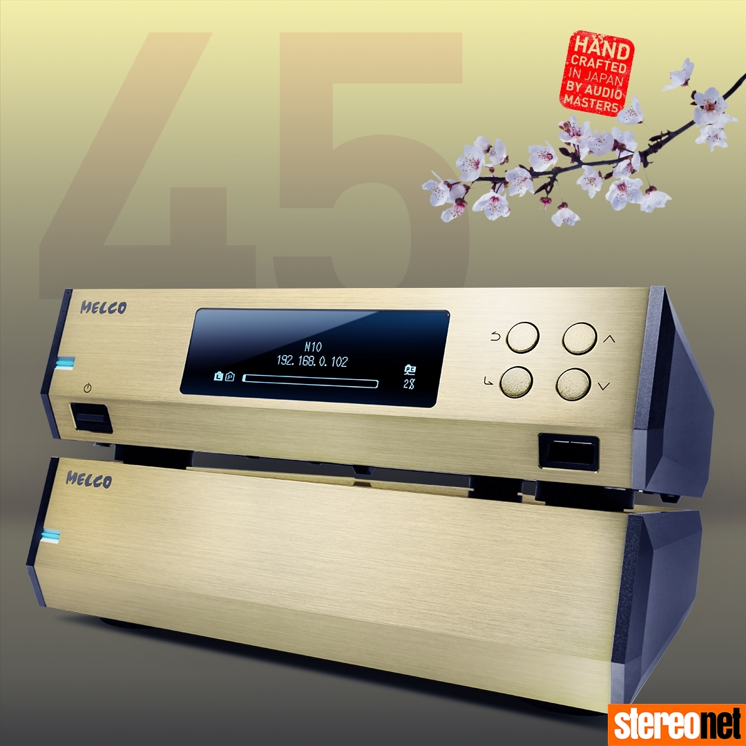 Melco N10 45th Anniversary Gold Edition