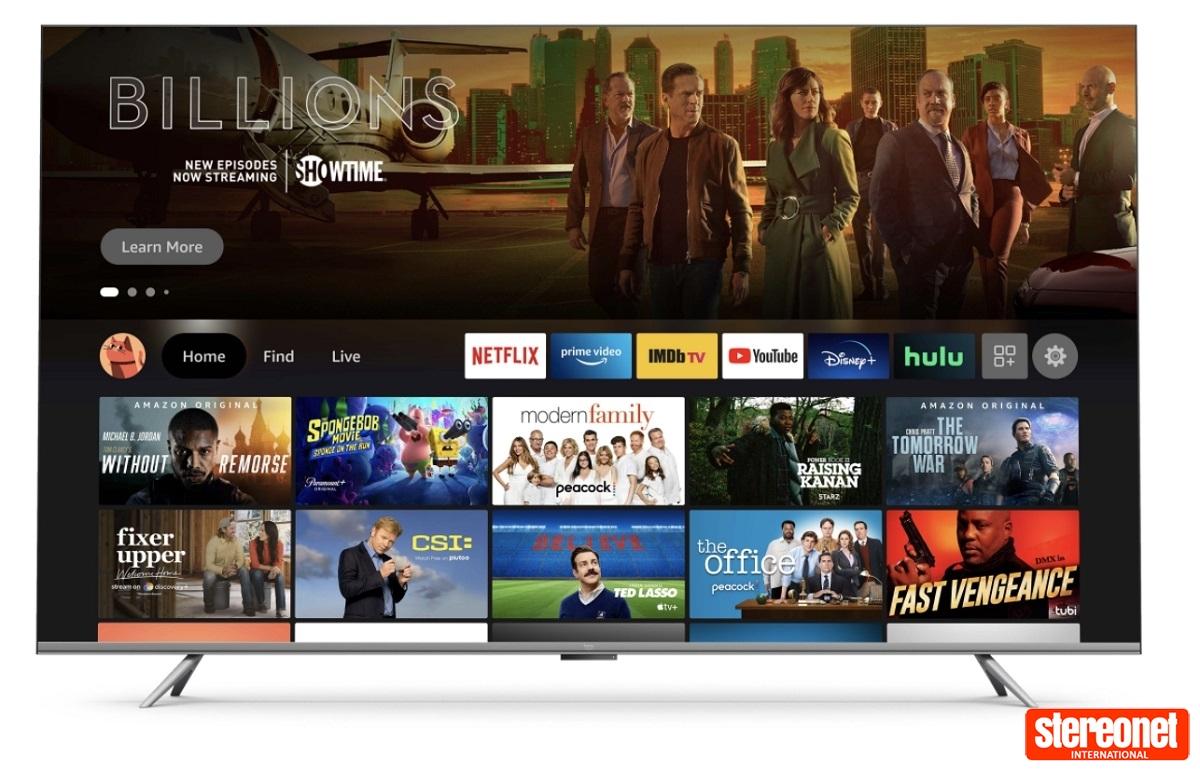 Amazon branded TVs coming soon