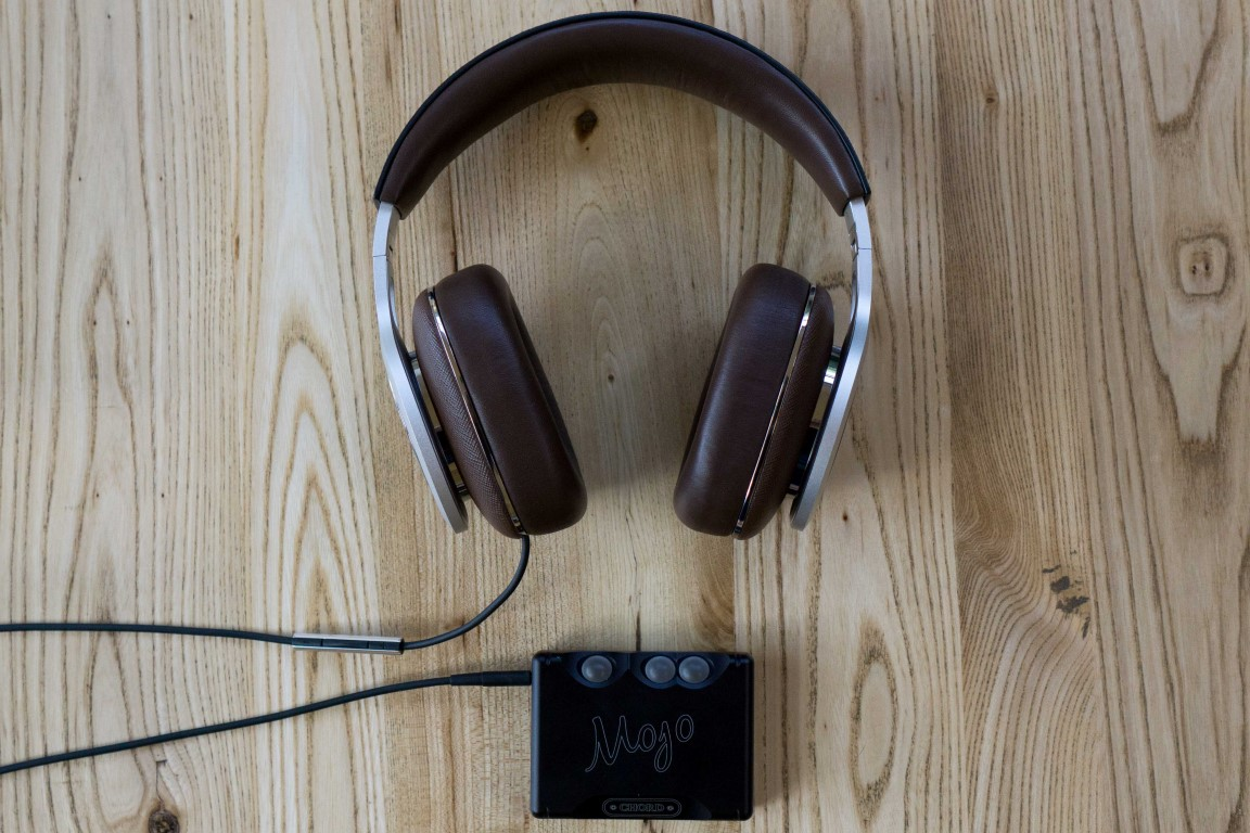 Bowers Wilkins P9 Signature with Chord Mojo